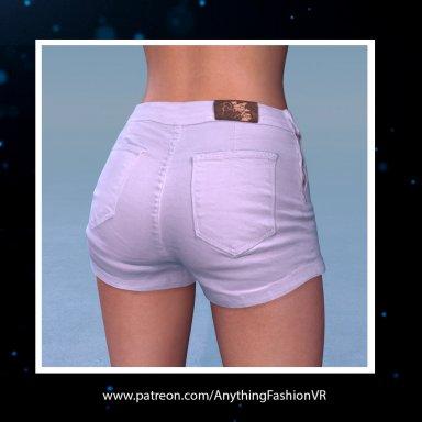 Realistic White shorts