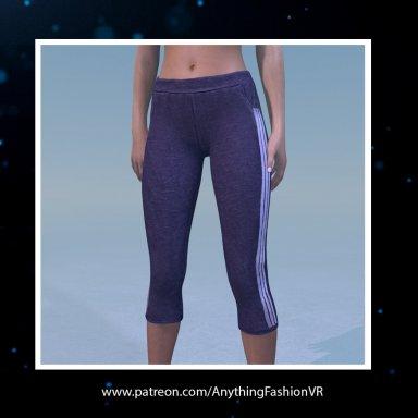 Realistic jogger leggings