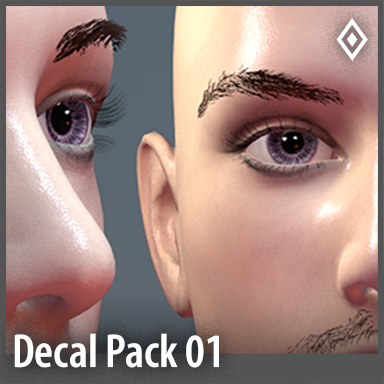 [Unisex] Decals Pack 01