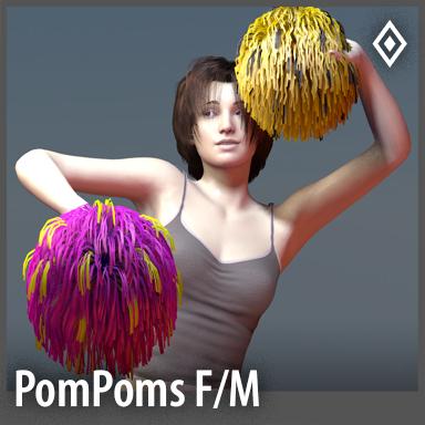 [Unisex] Cheerleader PomPoms