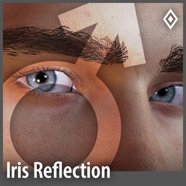 [Male] Iris Reflection