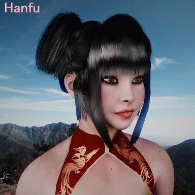 Hanfu Hairstyle