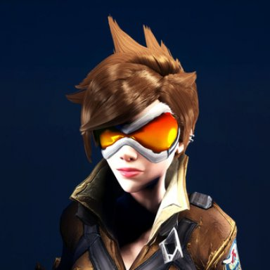 Tracer Hairstyle