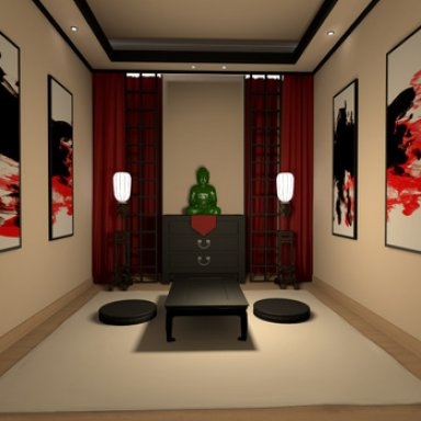 [Environment] Asian Room