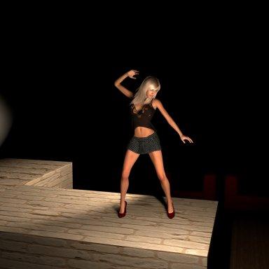 Stanky leg dance scene