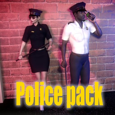 Police pack