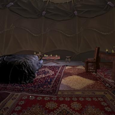 Primitive Tent Environment