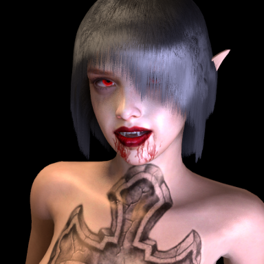 Anna Vampire Look