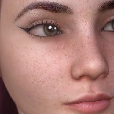 8 Freckles decals