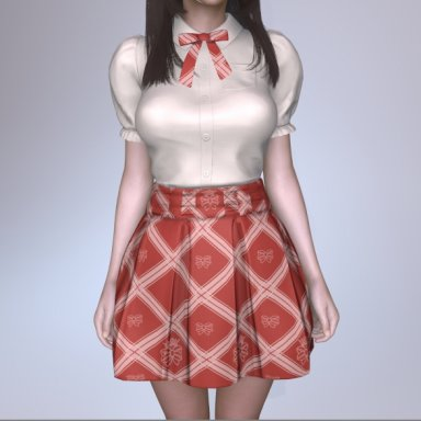 Blouse & Skirt Set004P
