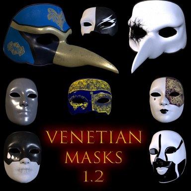 More venetian masks