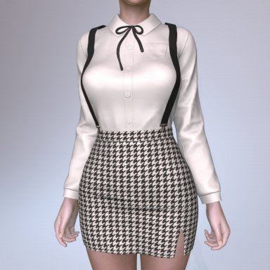 Blouse & Skirt Set006