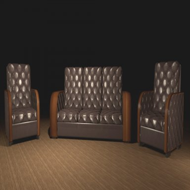 Interactive furniture - chocolate set