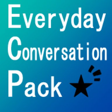 "Everyday Conversation Pack ""tana1B"""