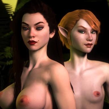 Ceilowyn: Elf and Human x 5
