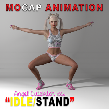 NEW IDLE/STAND Mocap Animation