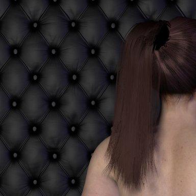 Amelia 3/4 pony tail hair