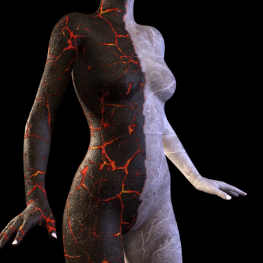 Elemental skin texture