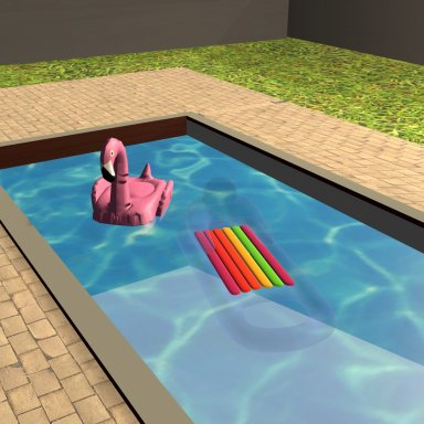 Pool Floats for my new Map
