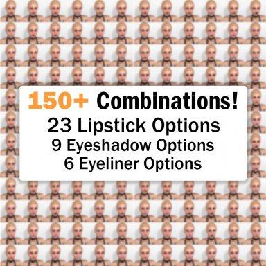 Huge Futa Makeup Decals Pack - 150+ Combinations!