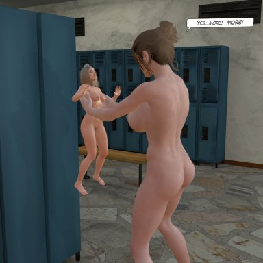 Locker Room Size Theft - Furry and Human versions included!