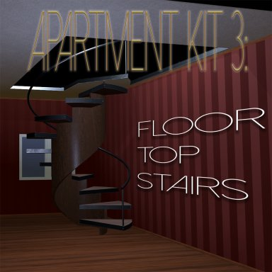 Apartment kit 3: floors, tops and stairs