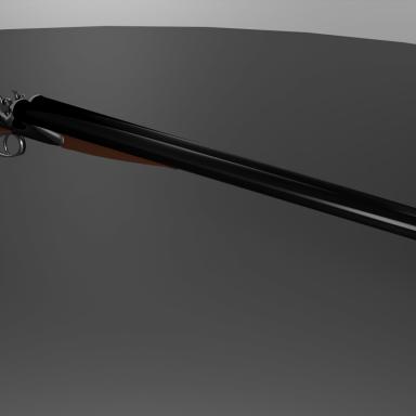 Double Barrel Long/Sawn Shotgun