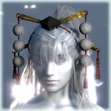 Tengu Headdress with physics