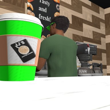 Coffee Cup to Promote New Cafe