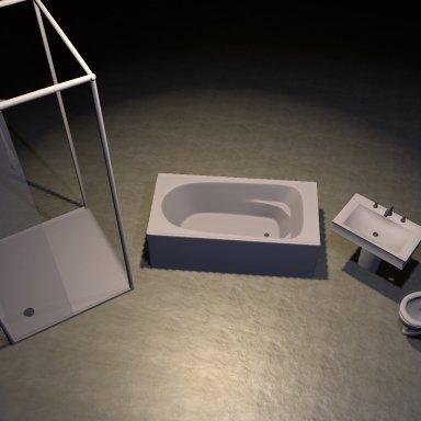Simple Bathroom Set