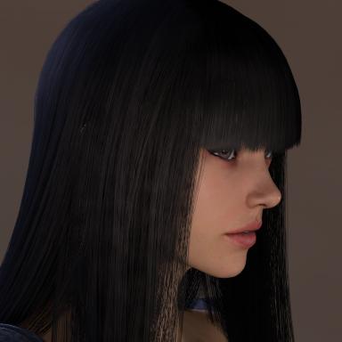 long hair 7