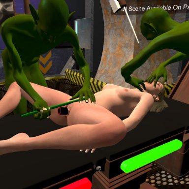 Bobbi's Alien Abduction -Lite
