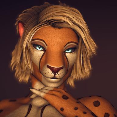 Feline Leopard with/without futa