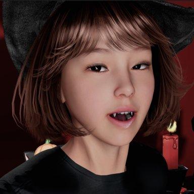 Crazy3dmodeler Halloween Asian Witch