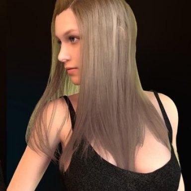 Straightened hairs