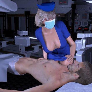 Nurse in Medical room