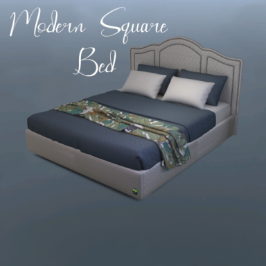 Modern Square Bed
