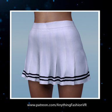Free Black white skirt with presets