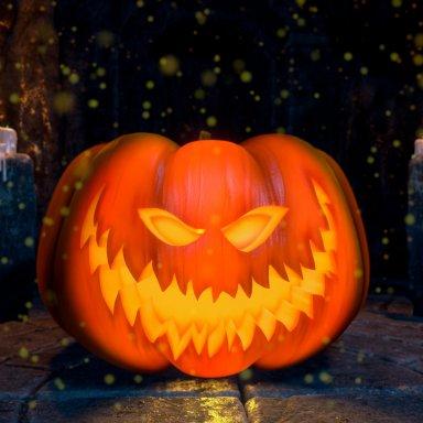 Halloween Pumpkin converted by Orpheaned