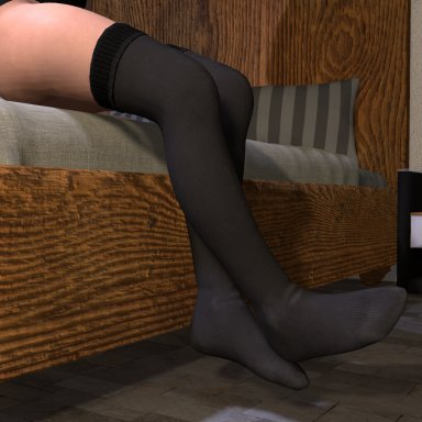 NooB's Male Thigh High Socks (Futa/Male)