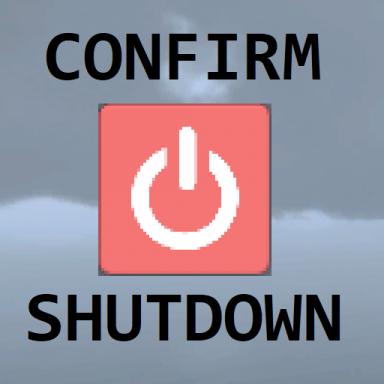 Confirm Shutdown