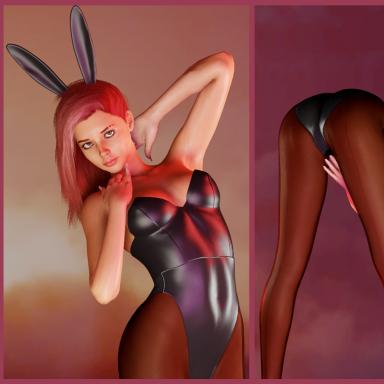 Bunnysuit (Corset, Bottom, Ears)