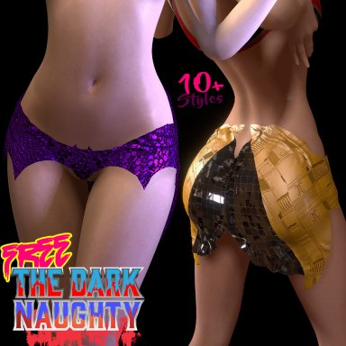 "Free DL | ""The Dark Naughty"" Miniskirt 10+ Styles Cosplay to Bedroom"