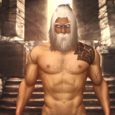 Nordic Father Odin