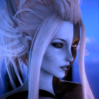 This is Azde – The Majin Monster Girl.
