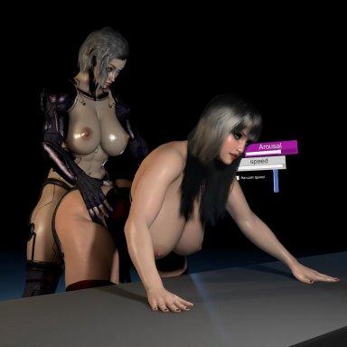 Cyborg futa scenes