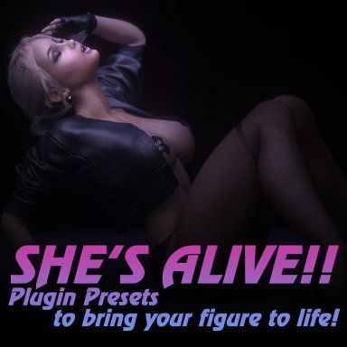 UPDATED: She's Alive: Plugin Presets to bring your figure to life