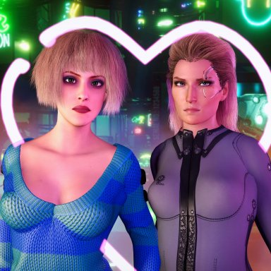 Cyberpunk Hairstyles