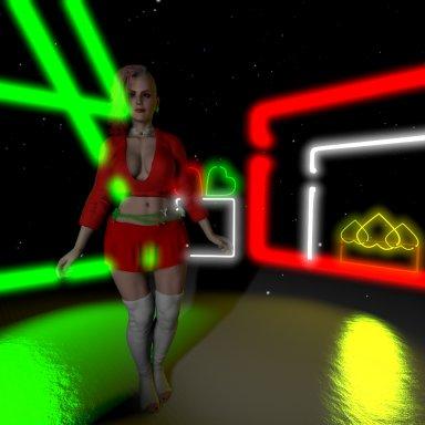 CyberChristmas - Mocap Scene