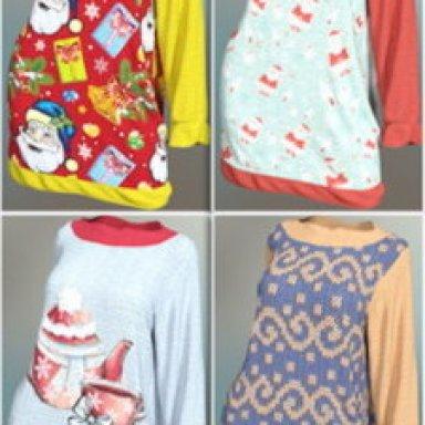 SickleYield Ugly Christmas Sweater